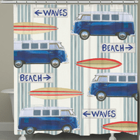 Beach Directions Shower Curtain