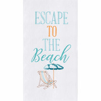 Beach Escape Flour Sack Towels - Set of 6