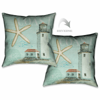 Beach House II Pillow