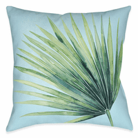 Beach Leaf II 18 x 18 Outdoor Pillow