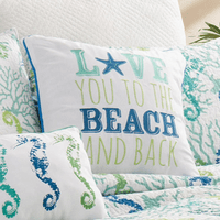 Beach Love Pillow
