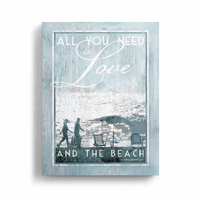 Beach Love Wall Art