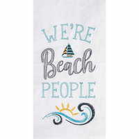 Beach People Flour Sack Towels - Set of 6