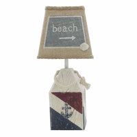 Beach Time Buoy Accent Lamp