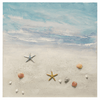 Beach Treasures Canvas Art
