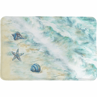 Beach Treasures Memory Foam Rug