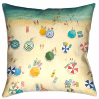 Beach View Decorative Pillow