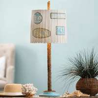 Beach Words Table Lamp