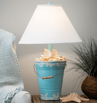 Beachcomber Vintage Pail Table Lamp