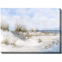 Beachfront Outdoor Canvas Art