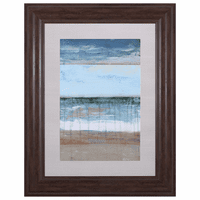 Beachscape II Framed Art