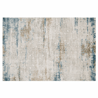 Beachscape Ivory & Azure Rug Collection