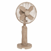 Driftwood Breeze Table Fan - OVERSTOCK