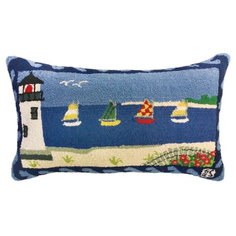 Beacon Hooked Wool Pillow