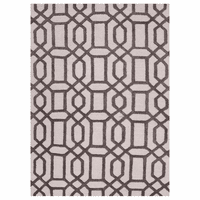 Bellevue Trellis Licorice Rug - 8 x 8