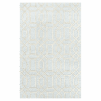Bellevue Trellis Pastel Blue Rug Collection