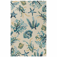 Bermuda Ocean Life Indoor/Outdoor Rug Collection