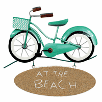 Bicycle at the Beach Wall Art - OVERSTOCK