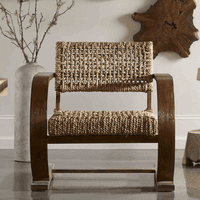 Biscayne Woven Accent Chair