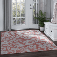 Blanes Bay Red Indoor/Outdoor Rug Collection