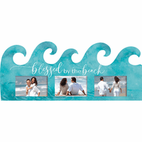 Blessed by the Beach Photo Frame