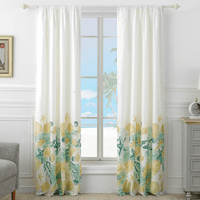 Blissful Beach Lined Drapes