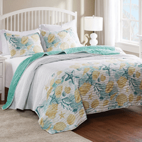 Blissful Beach Quilt Set - Twin