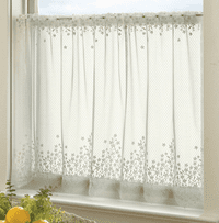 Blossom Ecru Lace Window Tier - 42 x 30