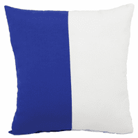 Blue and White Flag Indoor/Outdoor Pillow