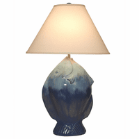 Blue Angelfish Table Lamp