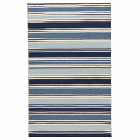 Blue Bay Stripes Rug Collection