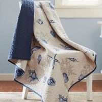 Blue Beach Oversized Throw