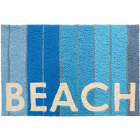 Blue Boardwalk Indoor/Outdoor Rug