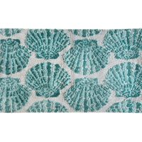 Blue Clam Shells Rug Collection