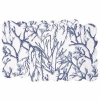 Blue Coral Reef Table Runner