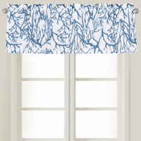 Blue Coral Reef Valance