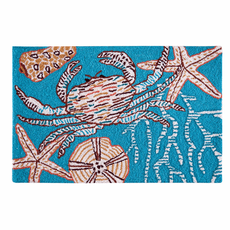 Blue Crab Bay Parfait Rug