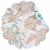 Blue Crab Bay Round Placemats - Set of 6