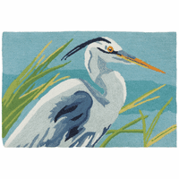 Blue Heron Accent Rug - OUT OF STOCK UNTIL 6/18/2021