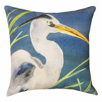 Blue Heron Bay Pillow