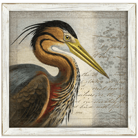 Blue Heron I Framed Art
