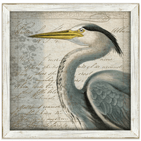 Blue Heron II Framed Art