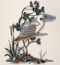 Blue Heron Wall Hanging