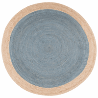 Blue Island Jute Rug Collection