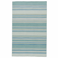 Blue Lagoon Stripes Rug Collection