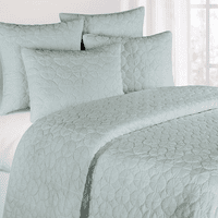Blue Mara Quilt Bedding Collection