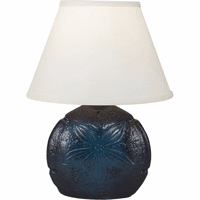 Blue Sand Dollar Table Lamp