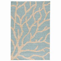 Blue Sea Coral Indoor/Outdoor Rug Collection