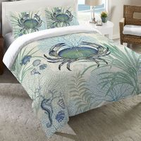 Blue Sea Life Duvet Bedding Collection