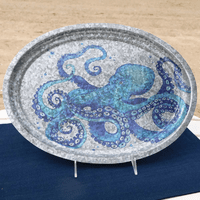 Blue Sea Octopus Tray - CLEARANCE